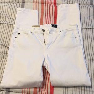 AG white jeans